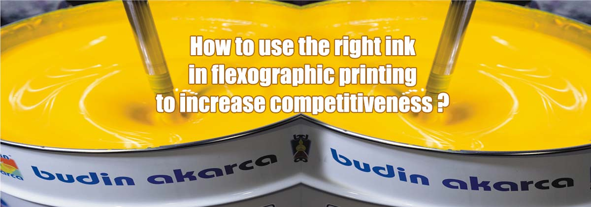Competitiveness with flexo print ink
